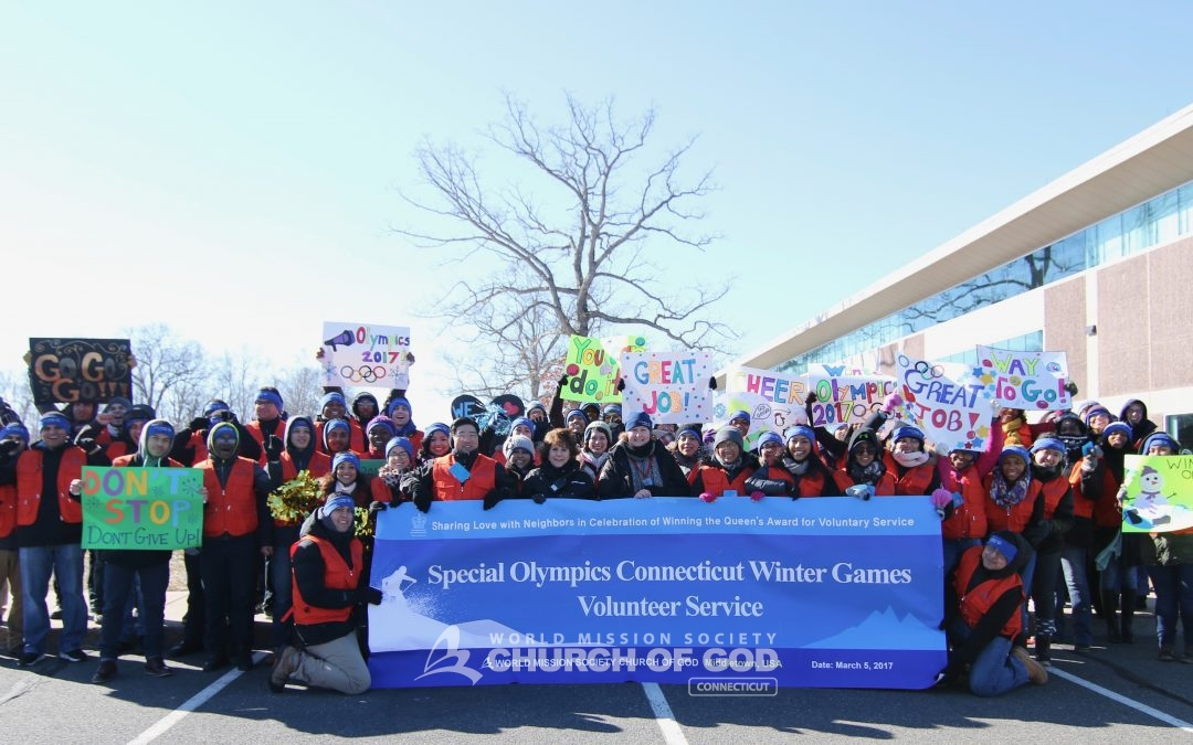 world mission society church of god, wmscog, church of god, church of god in connecticut, church of god volunteers, winter special olympics