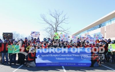 Volunteering at the 2017 Winter Special Olympics