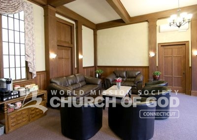 World Mission Society Church of God in Connecticut Coffee Lounge