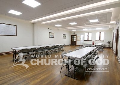 World Mission Society Church of God in Connecticut Dining Room