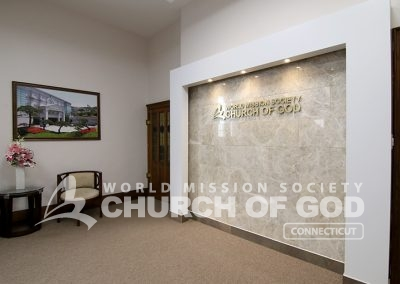 World Mission Society Church of God, WMSCOG, Connecticut, CT, Entrance, interior