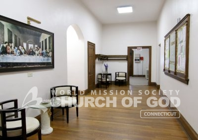 World Mission Society Church of God in Connecticut Lobby